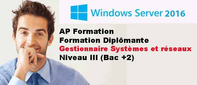 Formation administrateur reseaux et systemes APFORMATION